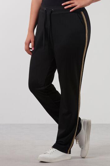 Pantalon sport à rayure