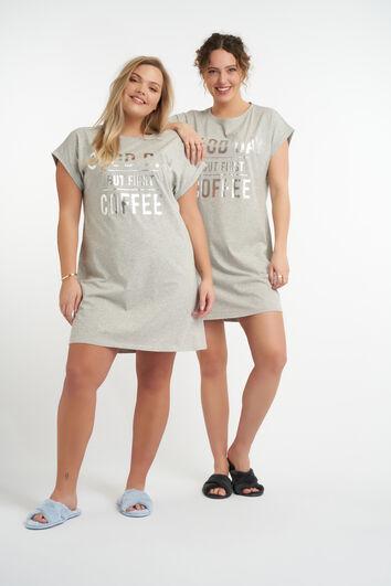 T-shirt de pyjama oversize