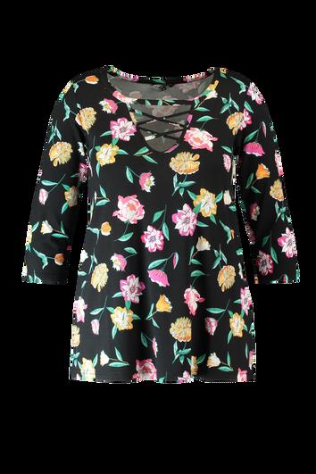 Chemise à imprimé floral