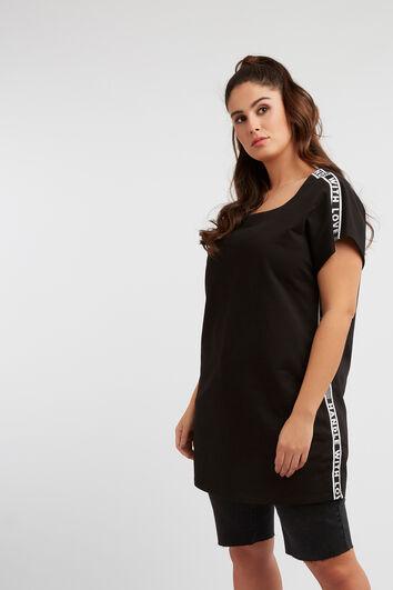 Sweat-shirt avec bords contrastés