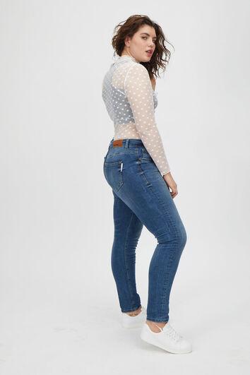 some,... jeans skinny coupe A délavé