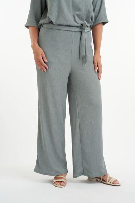 Pantalon coupe droite avec braguette boutonnée