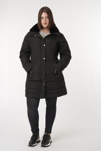 Long manteau matelassé