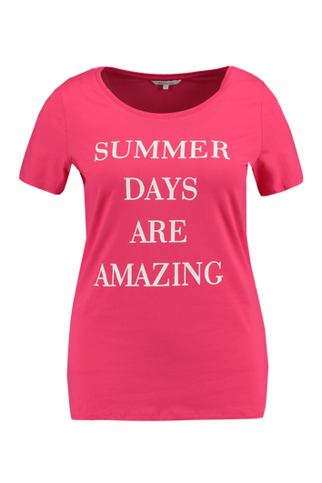 T-shirt avec texte imprimé
