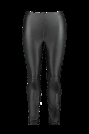 Leggings avec cuir synthétique sur le devant