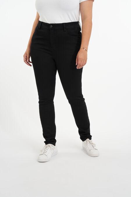 Jean skinny taille haute CHERRY