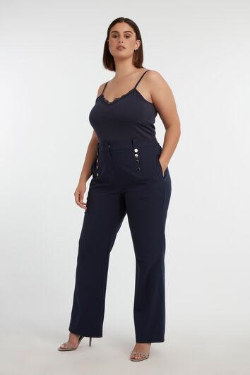 Pantalon boutonné