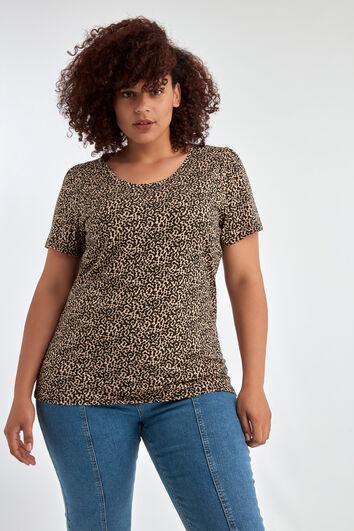 T-shirt à manches courtes décoré d'un imprimé