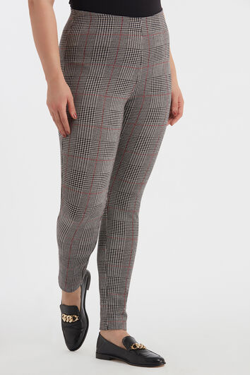 Legging à carreaux