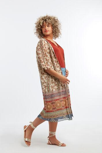 Kimono avec imprimé