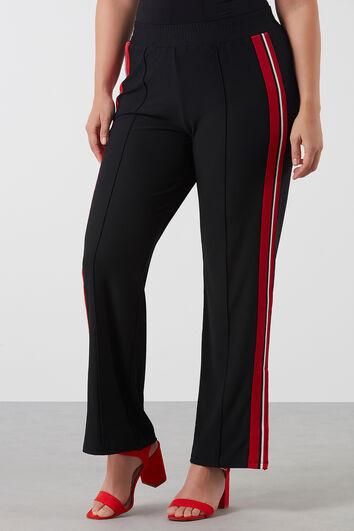 Pantalon à détails sport