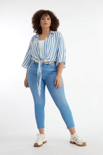 Lookbook Striped Blouse