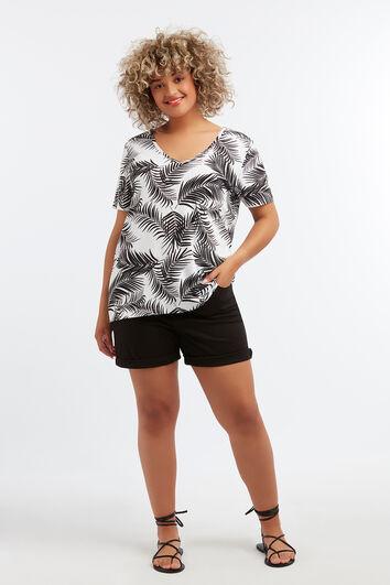 T-shirt basique imprimé