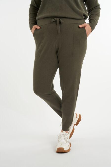 Pantalon confortable en maille fine