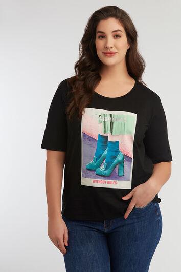T-shirt avec imprimé photo