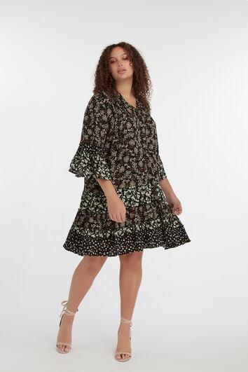 Robe avec patchwork