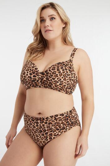 MS Mode haut de bikini imprimé