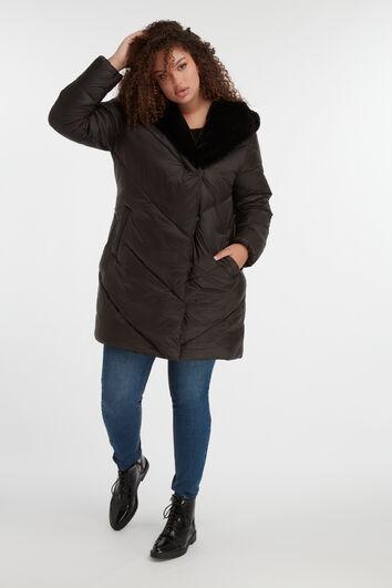 Veste matelassée à capuche