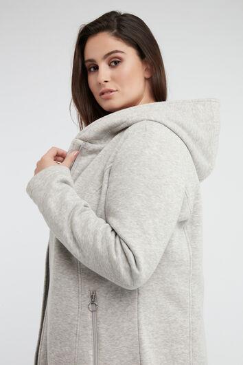 Veste en jersey avec capuche