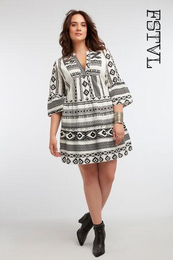 Robe tunique imprimée