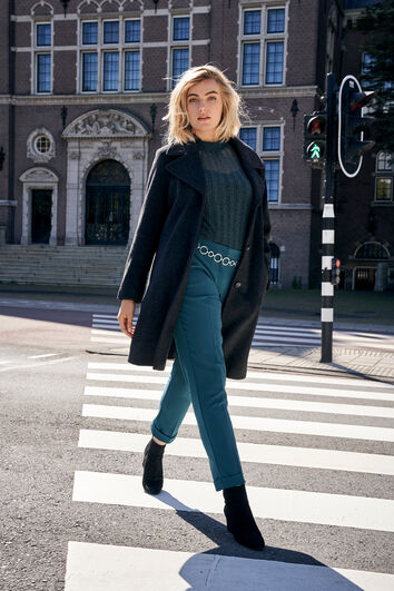 Manteau de ville long