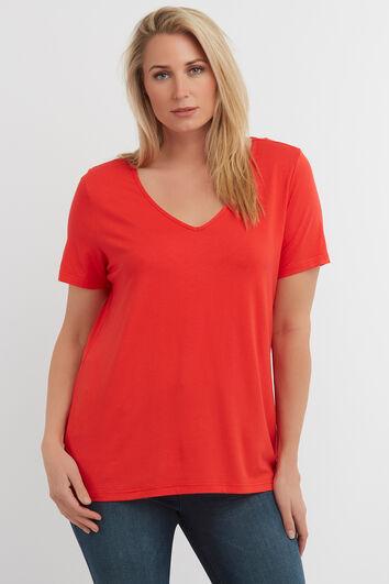T-shirt couleur unie