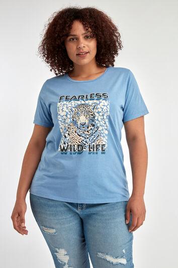 T-shirt à imprimé tendance